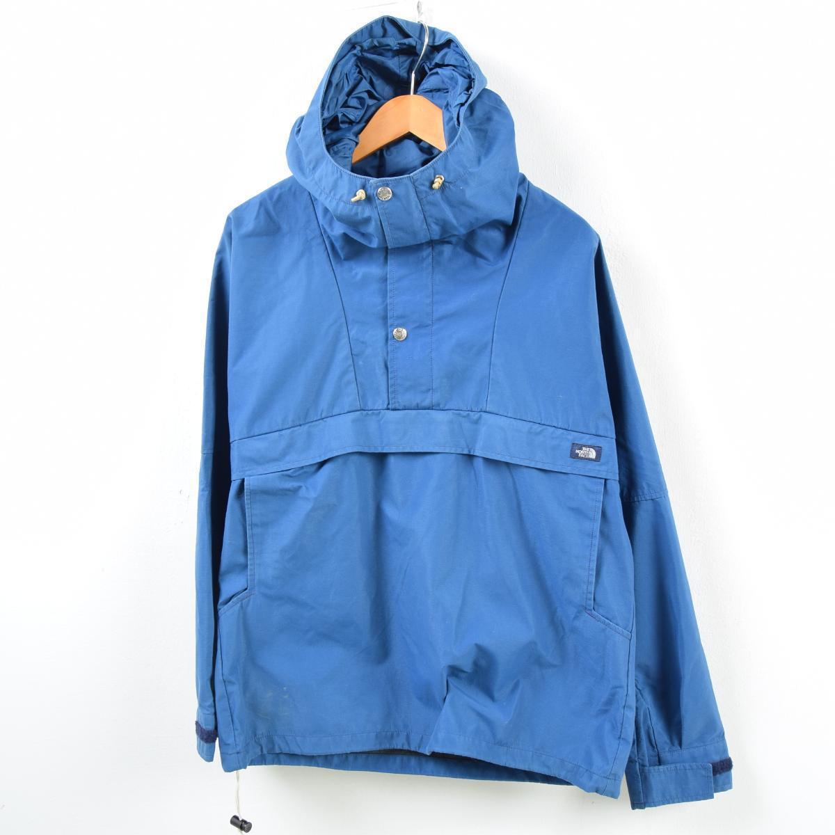 e17bd24e5 80s the North Face THE NORTH FACE dark blue tag GORE-TEX Gore-Tex anorak  parka men L vintage /wbb4692