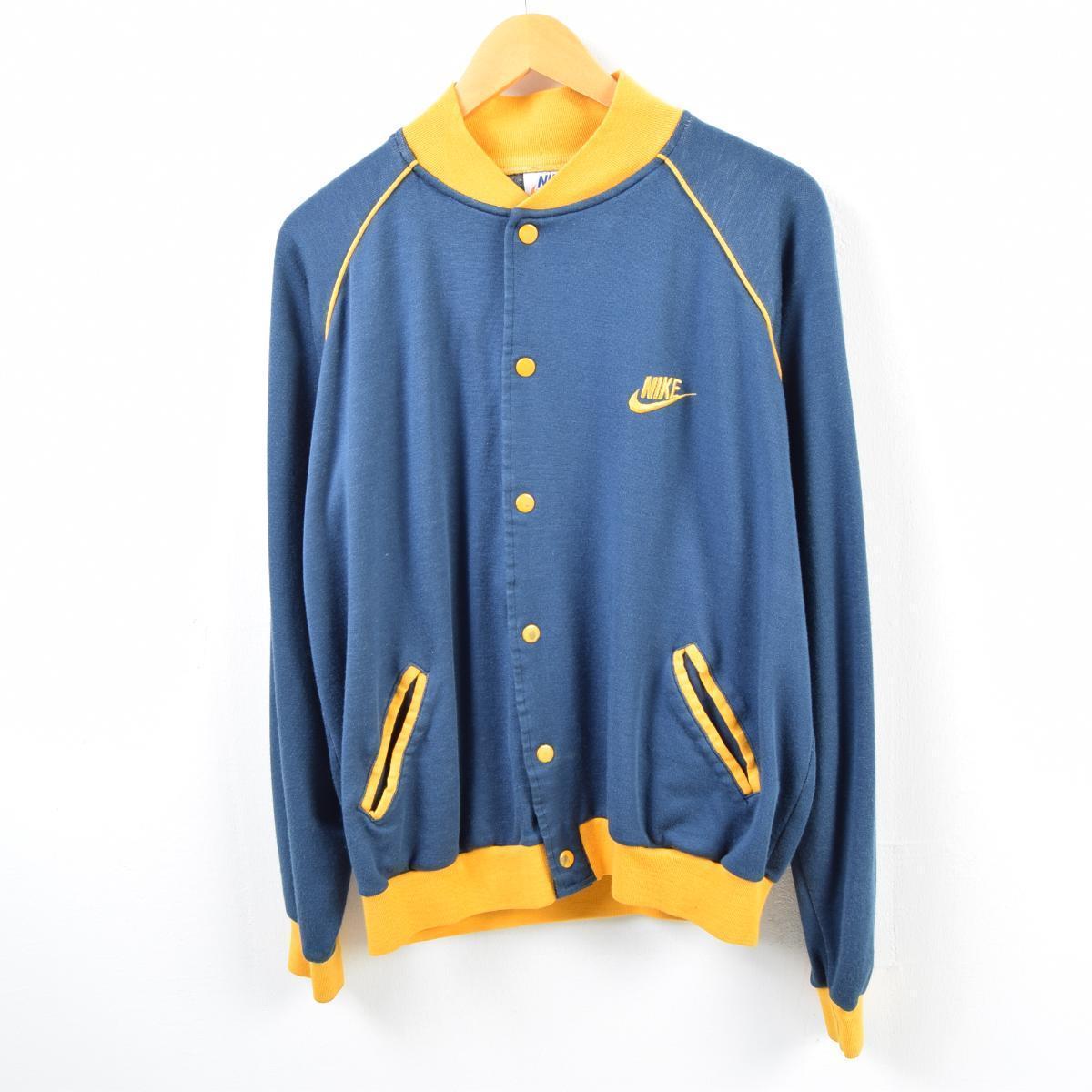 70年代 ナイキ NIKE オレンジタグ ジャージ トラックジャケット メンズS ヴィンテージ /wbb4611 【中古】【N1905】 【190416】
