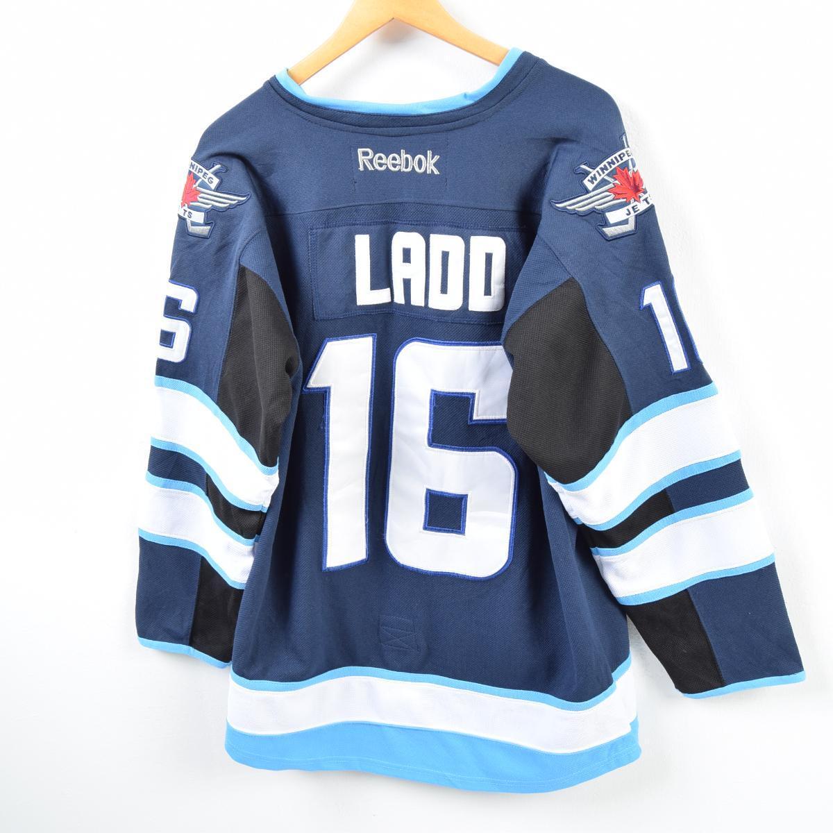 quality design 182b3 97f5b Men L /wbb4176 made in Reebok Reebok NHL WINNIPEG JETS Winnipeg Jets game  shirt replica uniform Canada