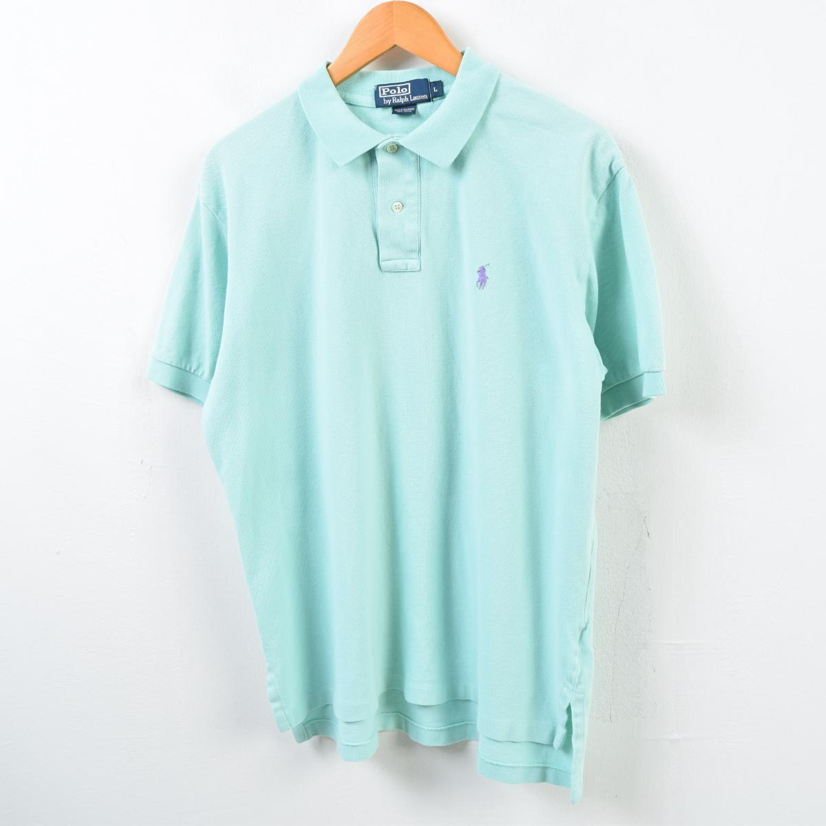 0323b65ce7d6 Ralph Lauren Ralph Lauren POLO by Ralph Lauren short sleeves polo shirt men  L /wbb4225 ...