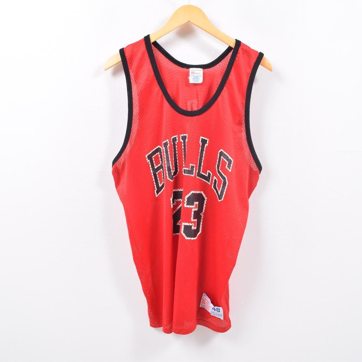 チャンピオン Champion NBA CHICAGO BULLS シカゴブルズ MICHAEL JORDAN マイケルジョーダン ゲームシャツ レプリカユニフォーム メンズXL /wbd8300 【中古】 【190428】【CS2001】【VTG】
