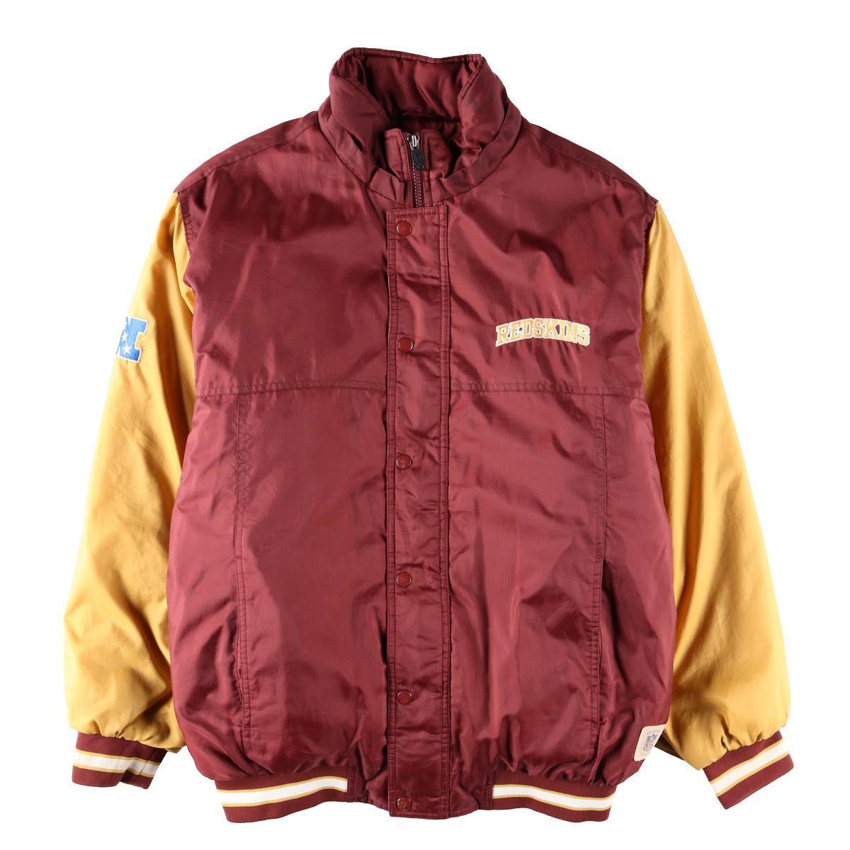 sale retailer b9c0e 9b532 Reebok Reebok NFL WASHINGTON REDSKINS Washington Redskins batting jacket  men M /wbe2172