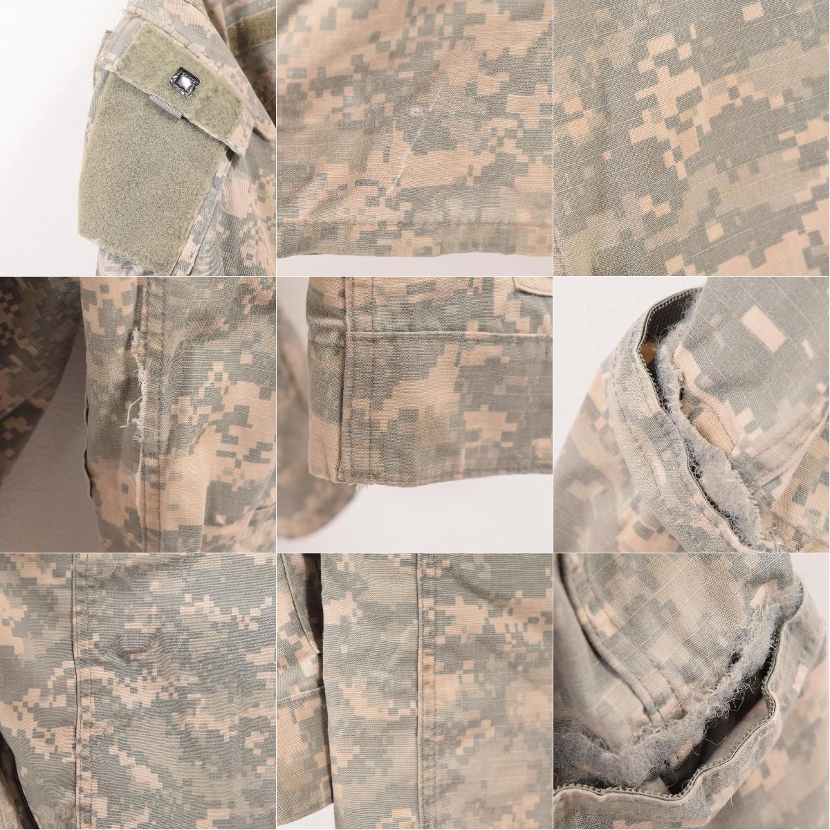 希少サイズ 05年納品 米軍実品 U S ARMY ACU デジタルカモ 迷彩 ミリタリー コンバットジャケット USA製 SMALL REGULAR メンズSwbe7558190623TJl3F1cK