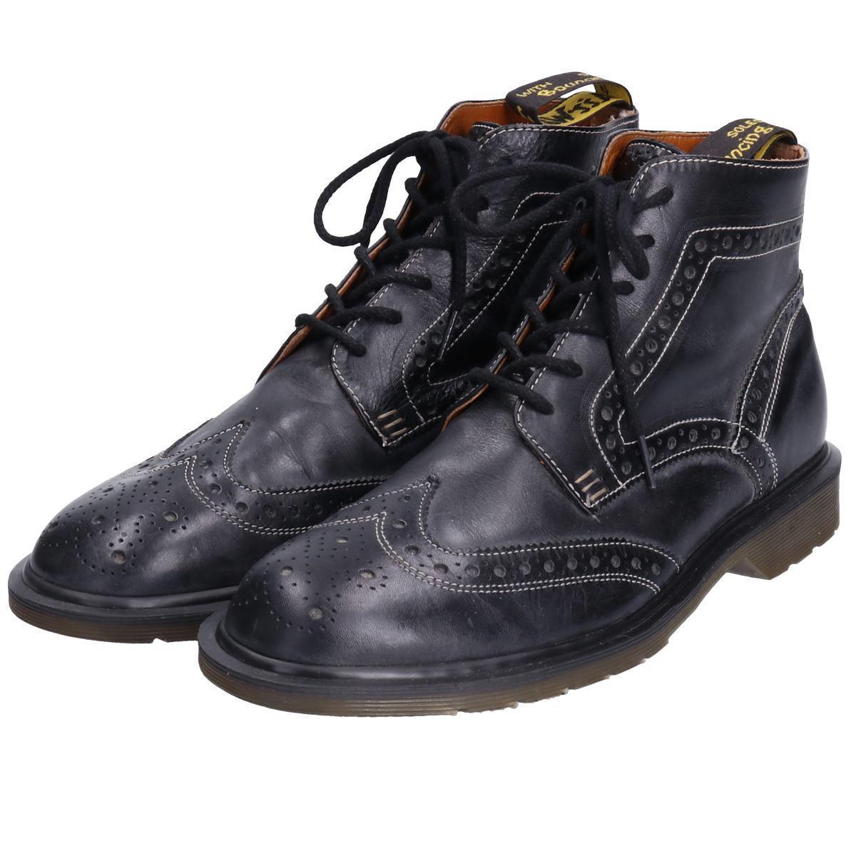 ドクターマーチン Dr.Martens ウイングチップブーツ 英国製 UK9 メンズ27.5cm /bop6194 【中古】 【190718】【PD2003-2】