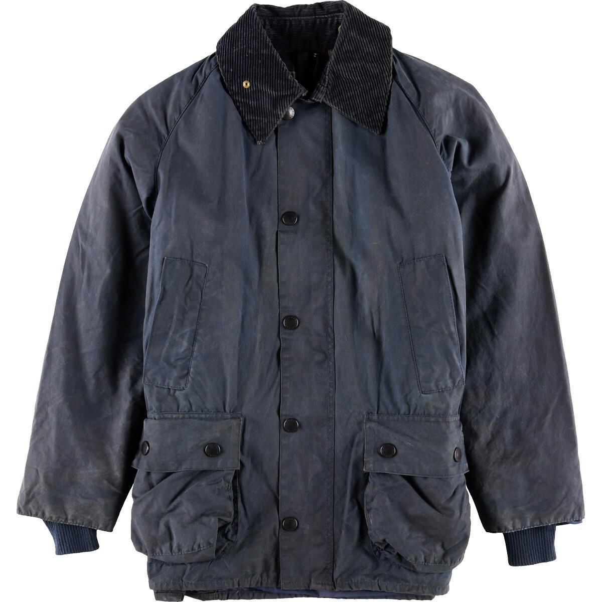 80~90年代 バブアー Barbour BEDALE ビデイル 旧3ワラント ワックスコットン オイルドジャケット C36 メンズS ヴィンテージ /wbh7405 【中古】 【190912】【TS2001】