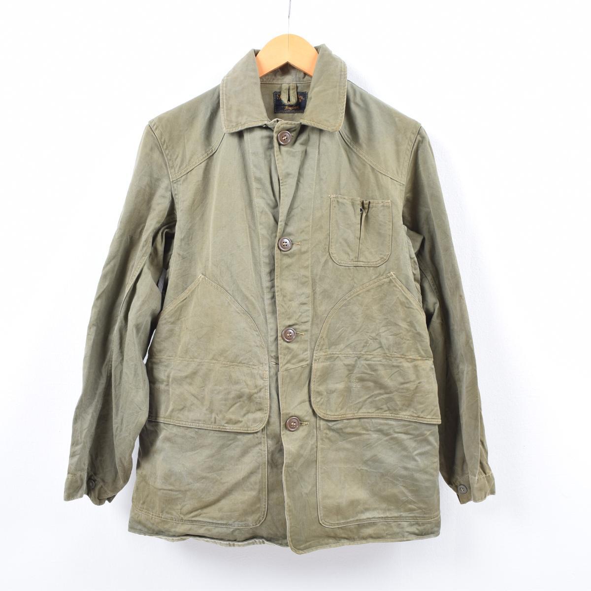 40~50年代 Drybak The Feather ハンティングジャケット メンズS ヴィンテージ /wbi5957 【中古】 【190919】【VTG】【VTG】【SS2003】