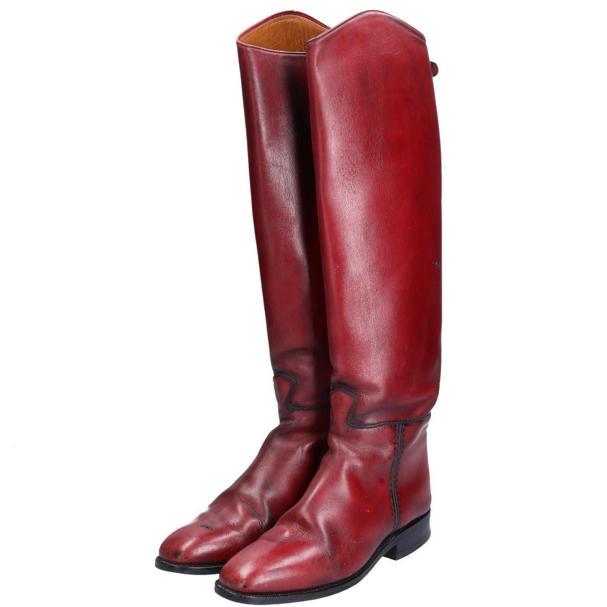 カバロ Cavallo ジョッキー乗馬ブーツ 5.5 レディース23.5cm /bop6579 【中古】 【190923】