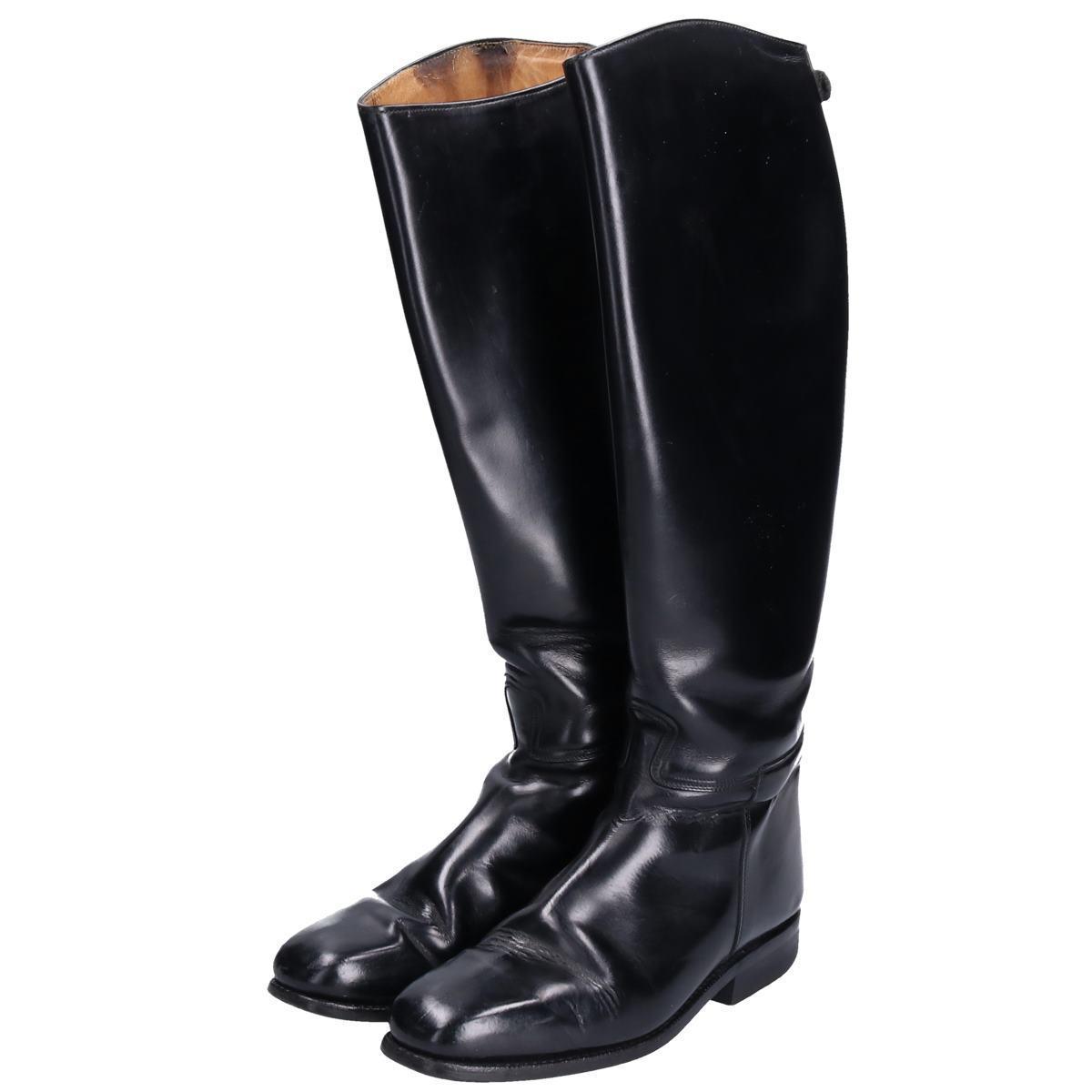 カバロ Cavallo ジョッキー乗馬ブーツ 6.5 レディース24.5cm /bop6582 【中古】 【190922】