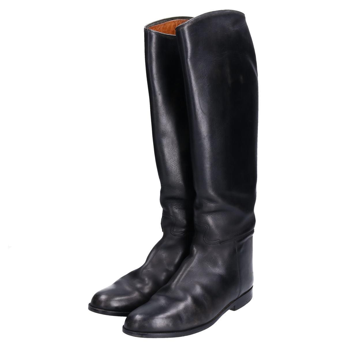 UNKNOWN 本革レザー ジョッキー乗馬ブーツ 7.5 メンズ25.5cm /bop6364 【中古】 【190923】
