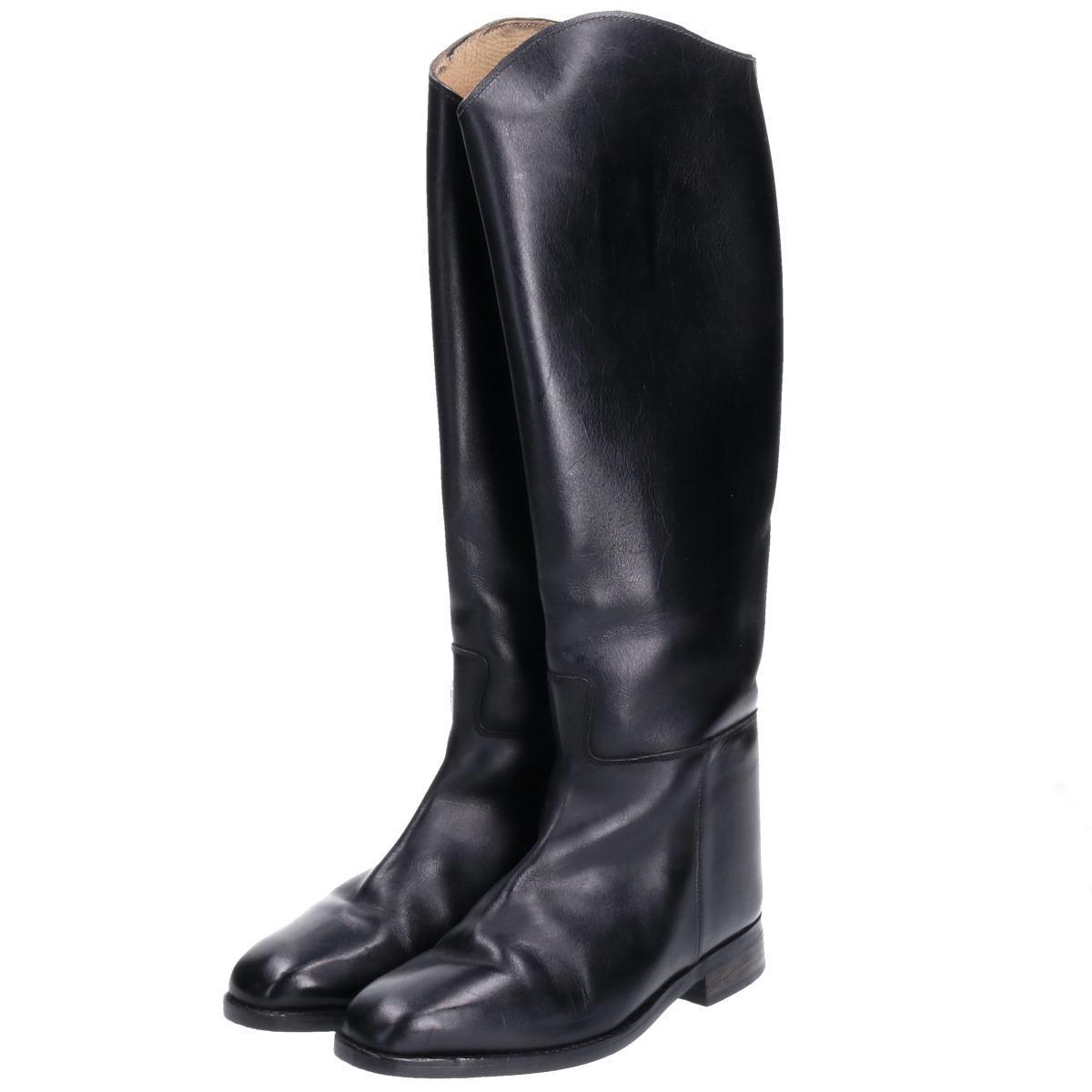 Rea ジョッキー乗馬ブーツ 39 レディース24.5cm /boq4152 【中古】 【190927】【ws2001】【CS2001】【PD2001】【【SS2003】】