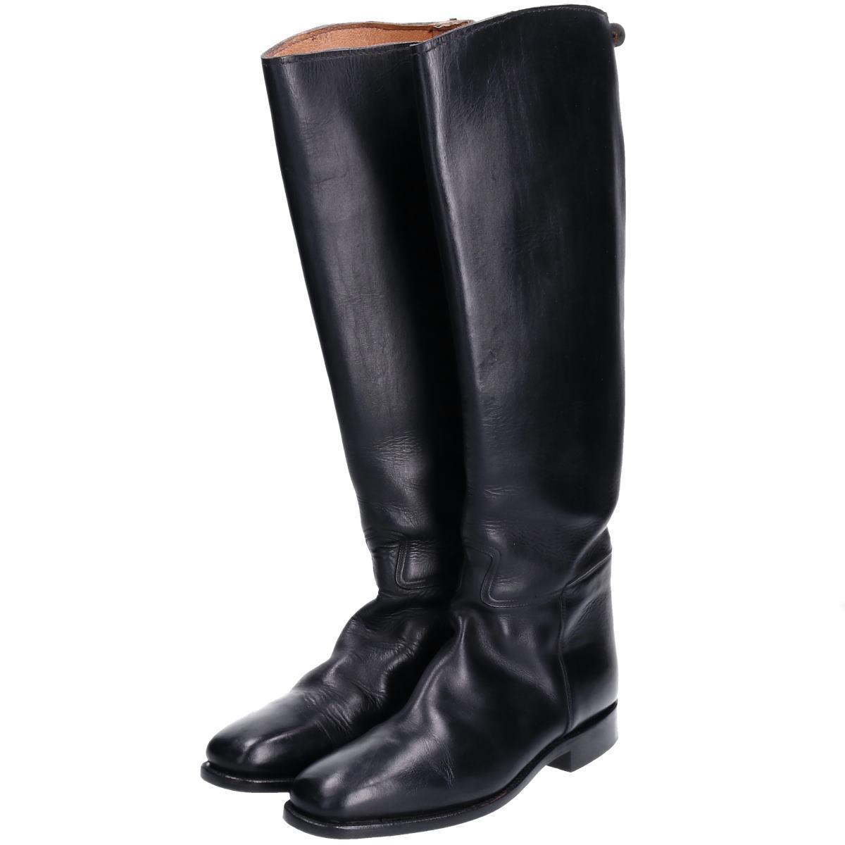 カバロ Cavallo ジョッキー乗馬ブーツ 7.5 メンズ25.5cm /boq3991 【中古】 【190928】