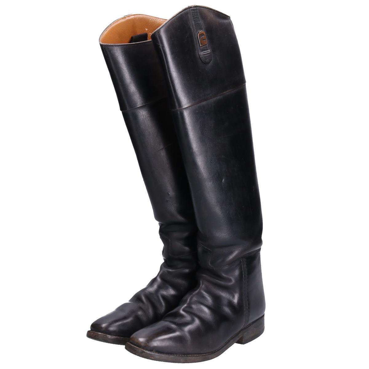 カバロ Cavallo ジョッキー乗馬ブーツ 5 レディース23.0cm /boq3406 【中古】 【191010】