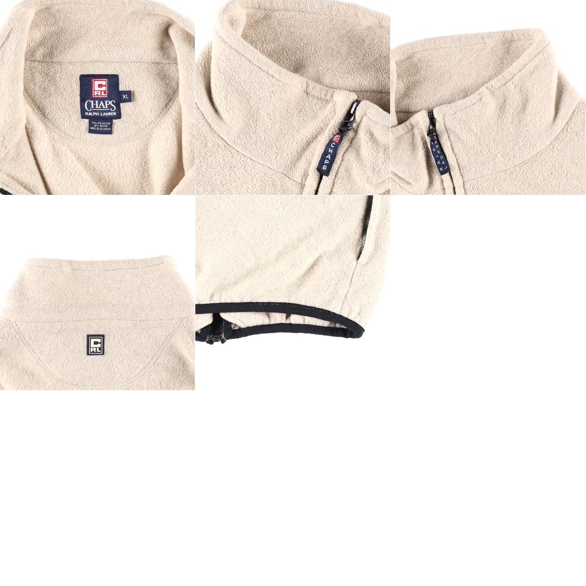 90年代 ラルフローレン Ralph Lauren CHAPS チャップス フリースジャケット メンズXL ヴィンテージwbh4505191010PD191219CS2003SS2006NmvnO8w0
