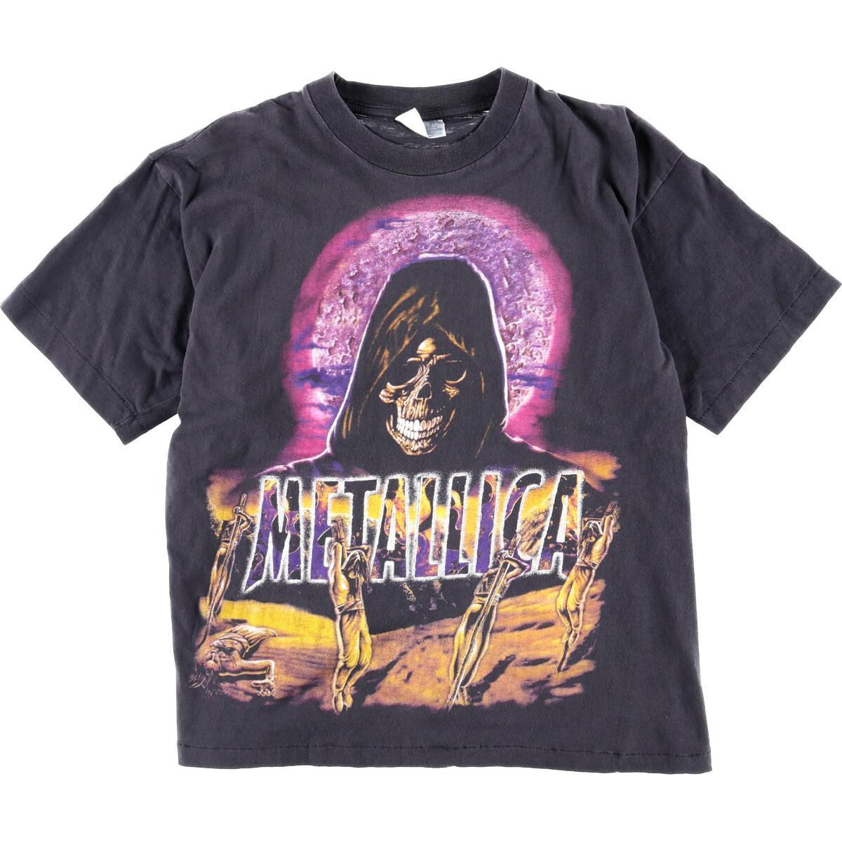 大判プリント METALLICA メタリカ バンドTシャツ メンズXL ヴィンテージ /wbj1698 【中古】 【200220】【VTG】【SVTG】