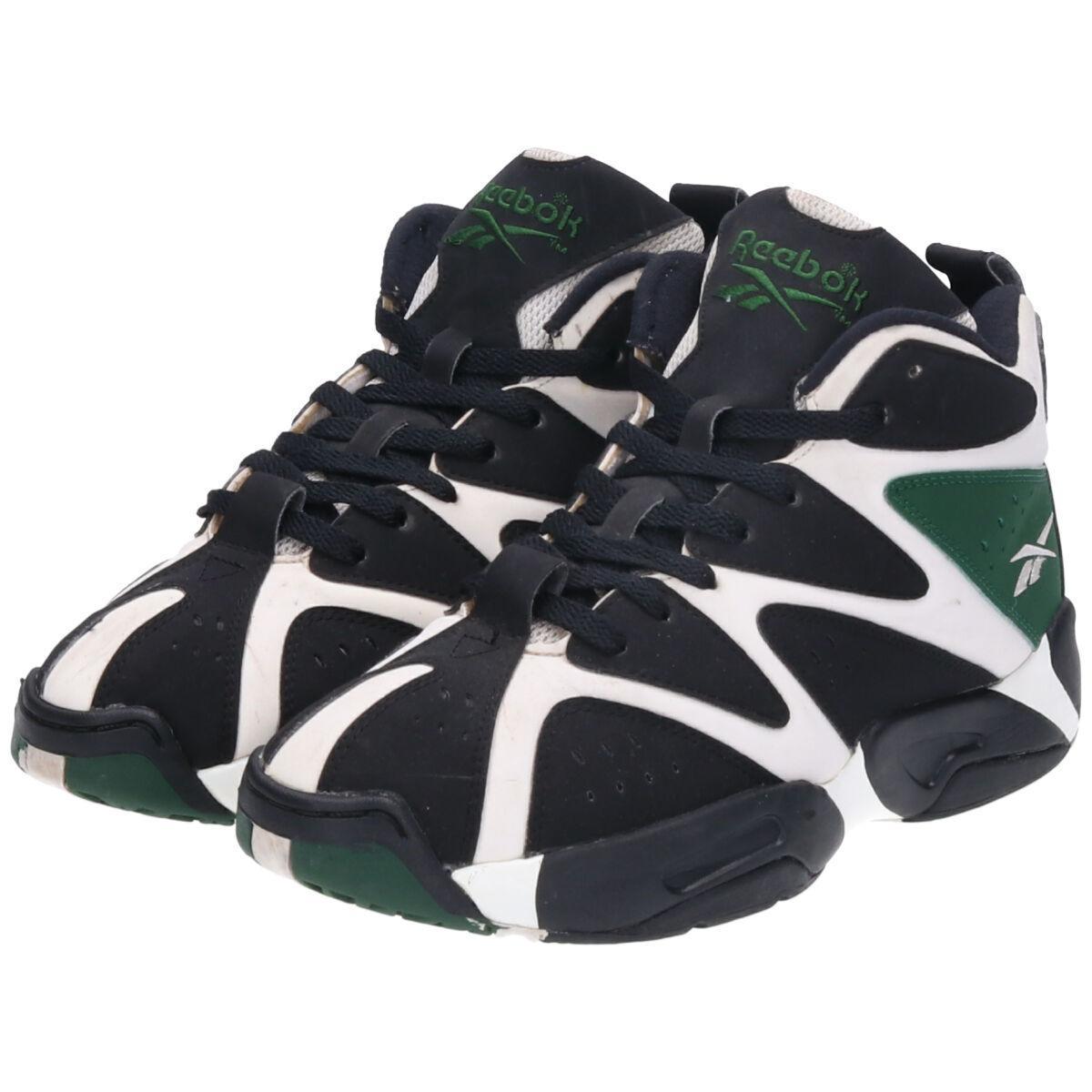 Reebok Men/'s Kamikaze IV M40834 Mid Retro Basketball Shoe Red Black Size 13M