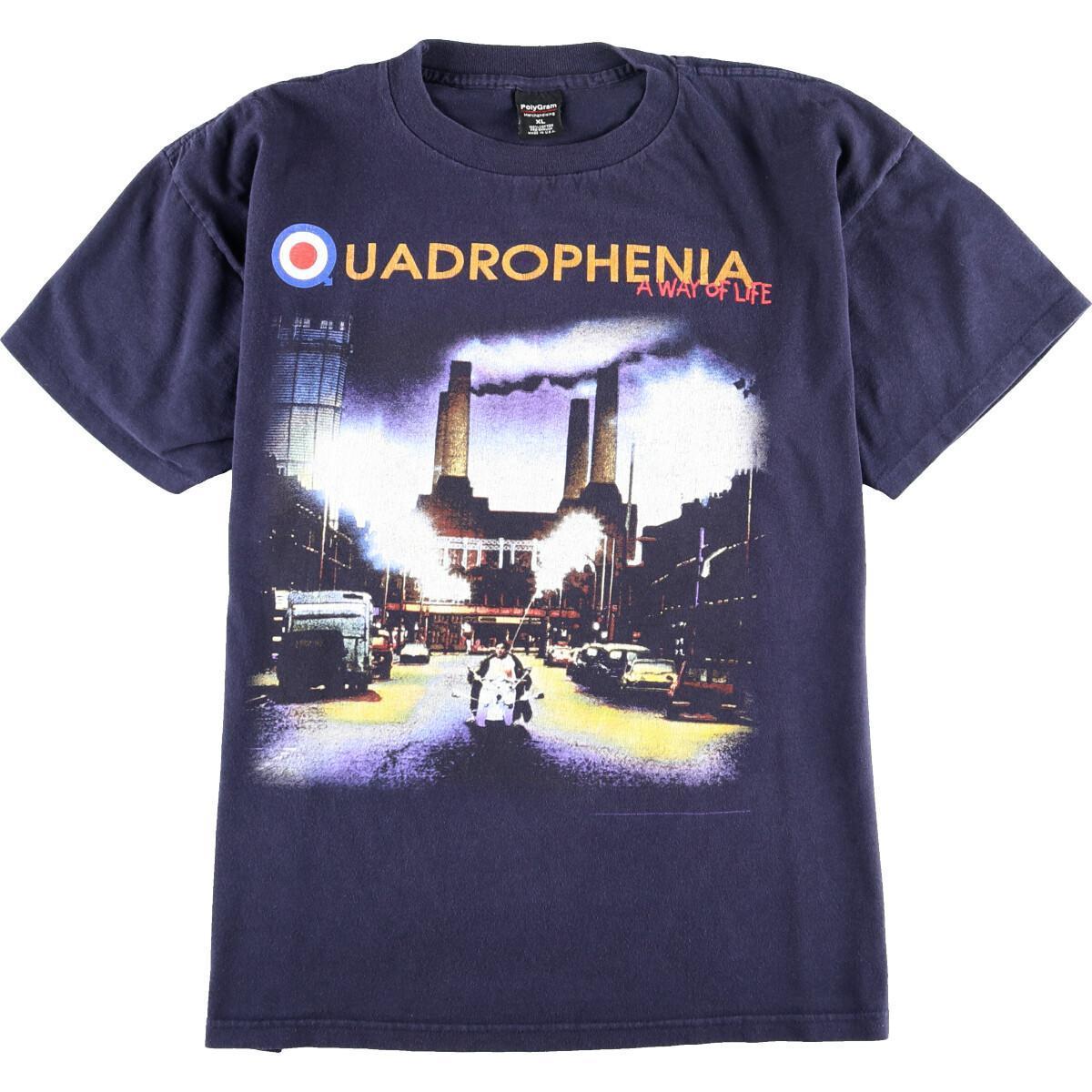 90年代 PolyGram THE WHO ザ フー NORTH AMERICAN TOUR 1996 バンドTシャツ USA製 メンズXL ヴィンテージ /eaa012861 【中古】 【200306】【VTG】【VTG】