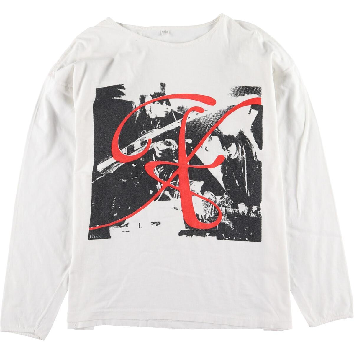 90年代 X JAPAN エックスジャパン ロンT バンドTシャツ メンズS ヴィンテージ /eaa012857 【中古】 【200307】【VTG】