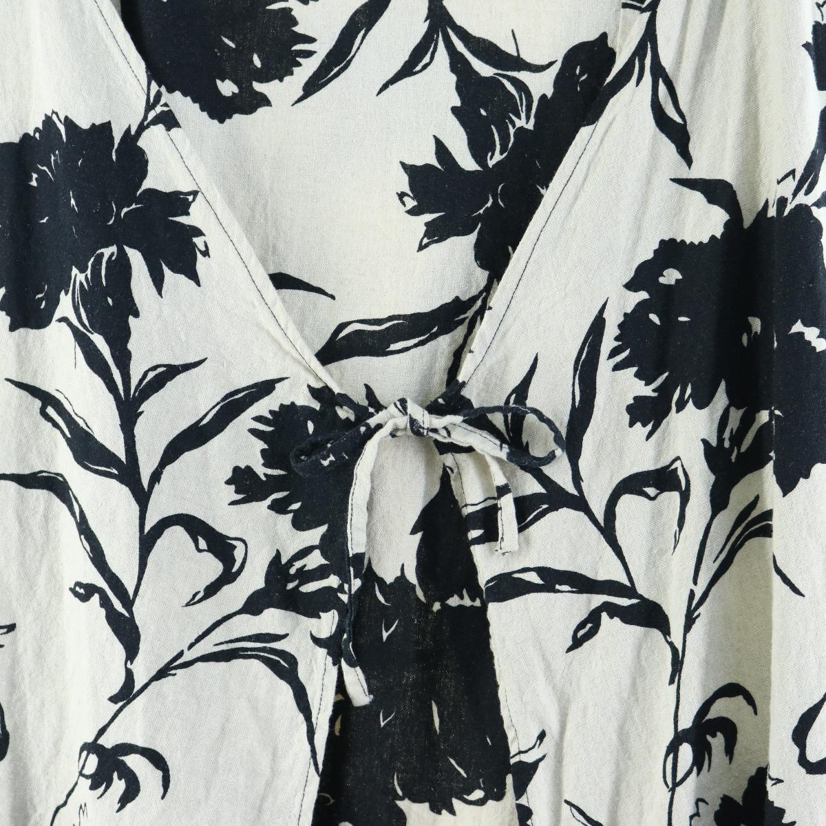 花柄 ノースリーブワンピース フリーサイズwbi7319200314SS2007H9WE2IDY