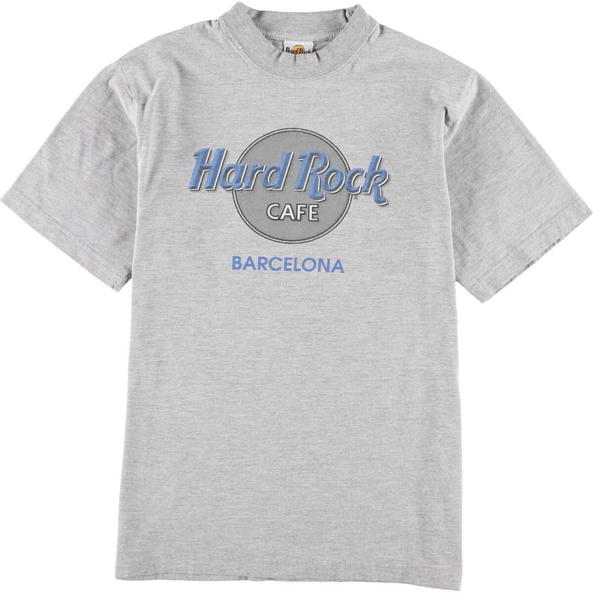 ハードロックカフェ HARD ROCK CAFE BARCELONA アドバタイジングTシャツ レディースSeaa023122200425bf67gy
