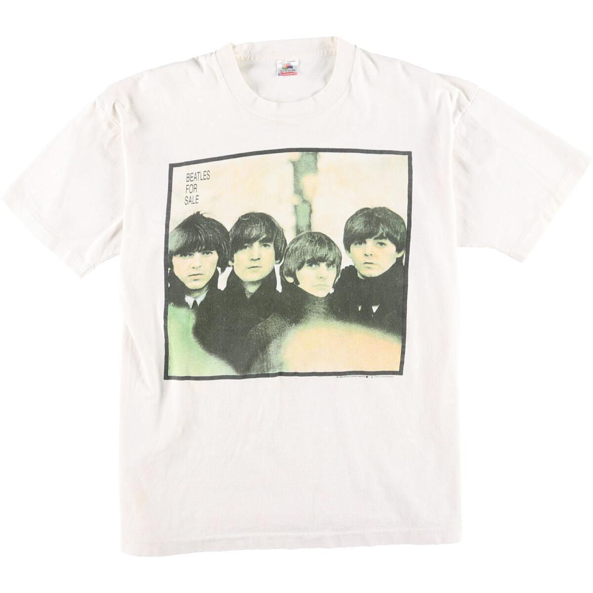 90年代 フルーツオブザルーム FRUIT OF THE LOOM THE BEATLES ビートルズ BEATLES FOR SALE バンドTシャツ USA製 メンズXL ヴィンテージ /eaa062124 【中古】 【200719】