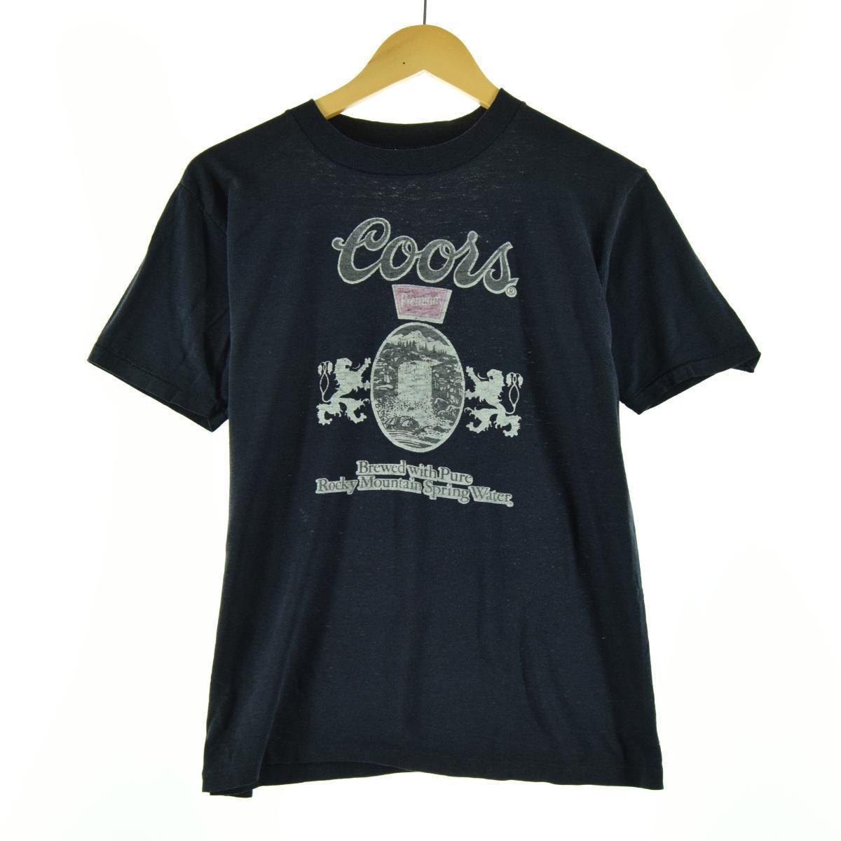 Coors アドバタイジングTシャツ メンズS eaa063837 中古 200726 SS2009 JS2010 CS2101 SS2101 SS2012 SS2106 お気に入 KF2012 セール品