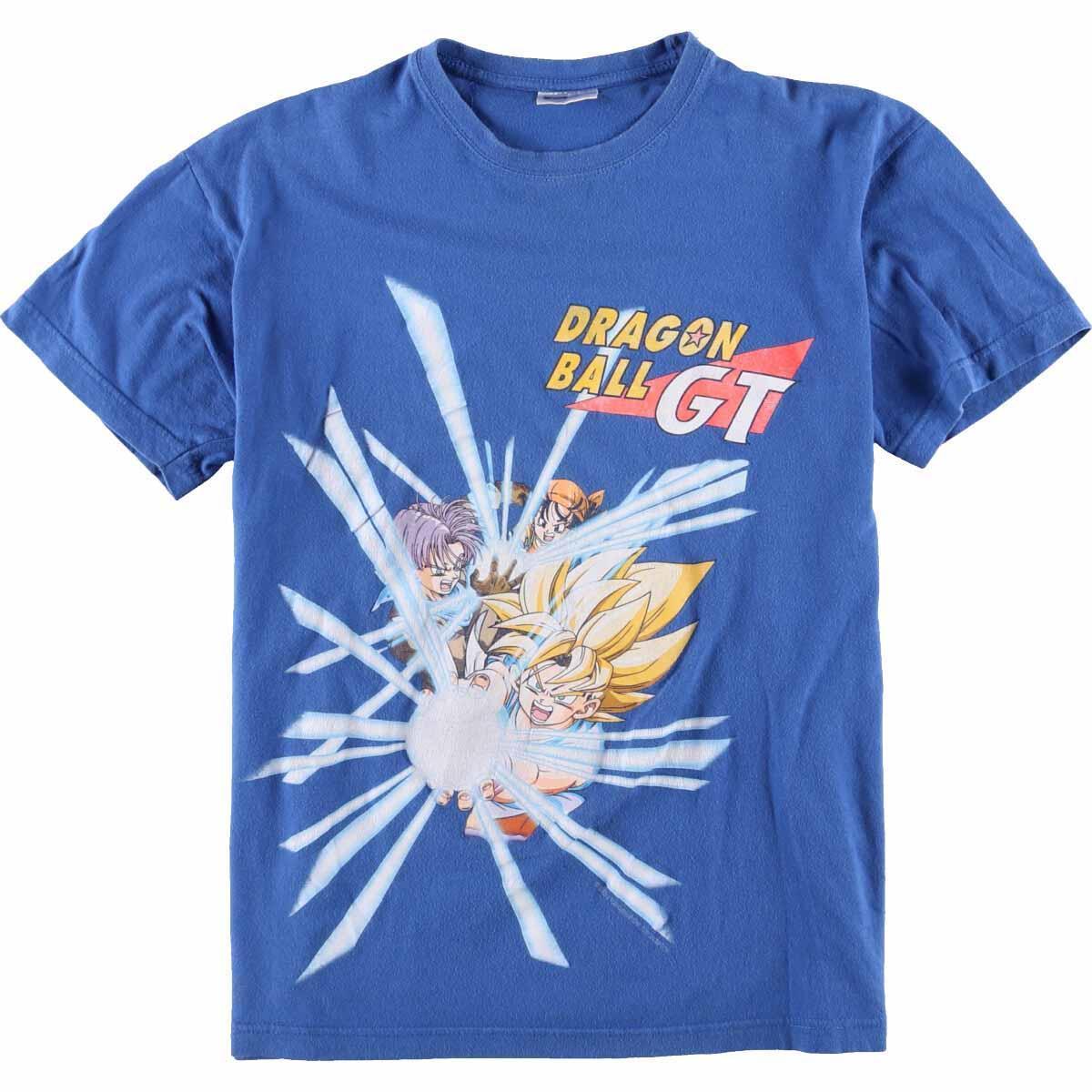 90年代 SOL'S DRAGONBALL GT ドラゴンボールGT キャラクタープリントTシャツ メンズM ヴィンテージ /eaa067207 【中古】 【200802】