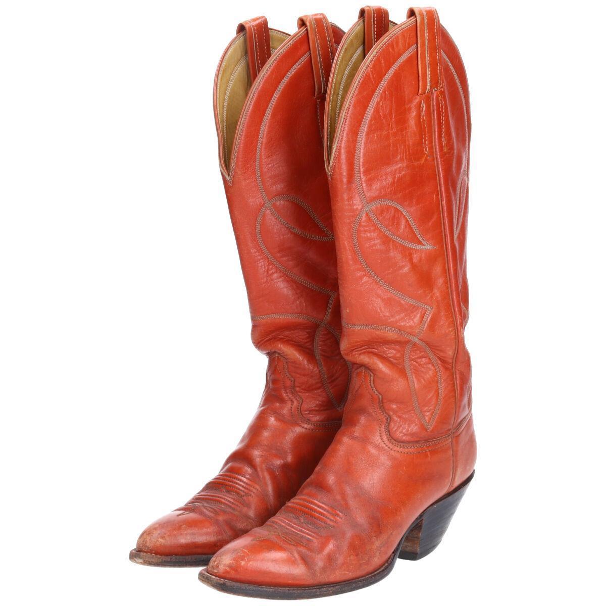 買い物 HONDO BOOTS ウエスタンブーツ 7.5B 中古 レディース24.5cm saa004284 新生活 210116