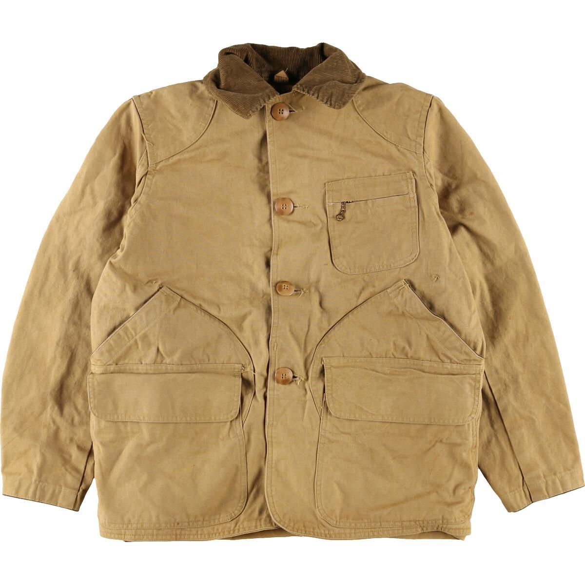 超歓迎された 推奨 50~60年代 American Field ダック地 ハンティングジャケット メンズM 2b10f eaa132635 ヴィンテージ 中古 210301