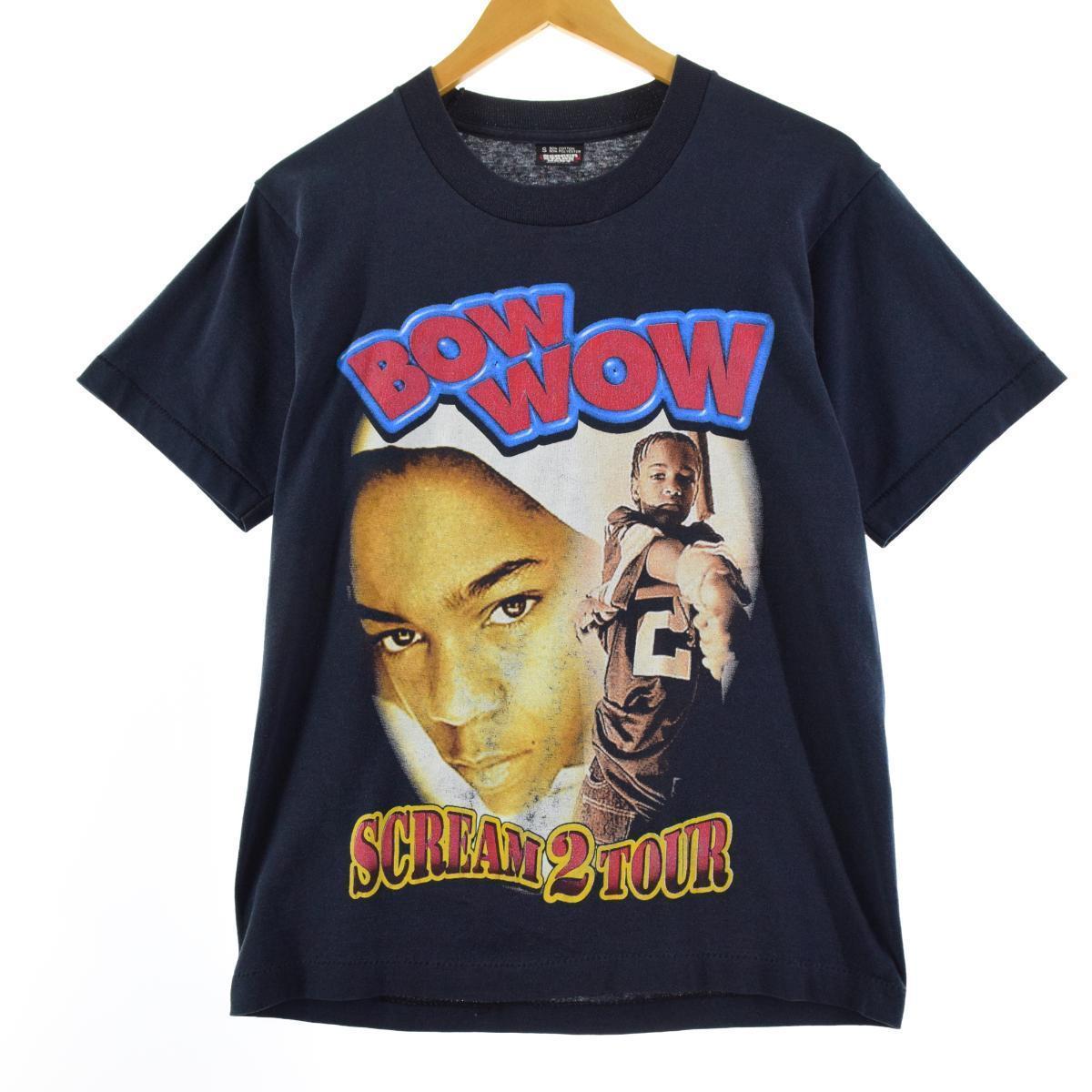 90年代 スクリーンスターズ SUREEN STARS 新品 送料無料 BOWWOW バウワウ SCREAM 2 TOUR 中古 210611 メンズS eaa166604 USA製 2020秋冬新作 ヴィンテージ バンドTシャツ