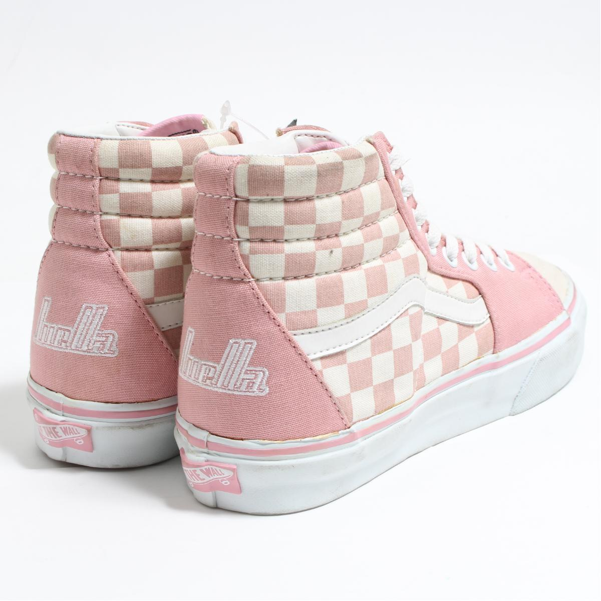 ccf8874c00 Vans VANS SK8-HI high-top checker flag sneakers WS7 Lady s 24.0cm  boo3293  with the tag