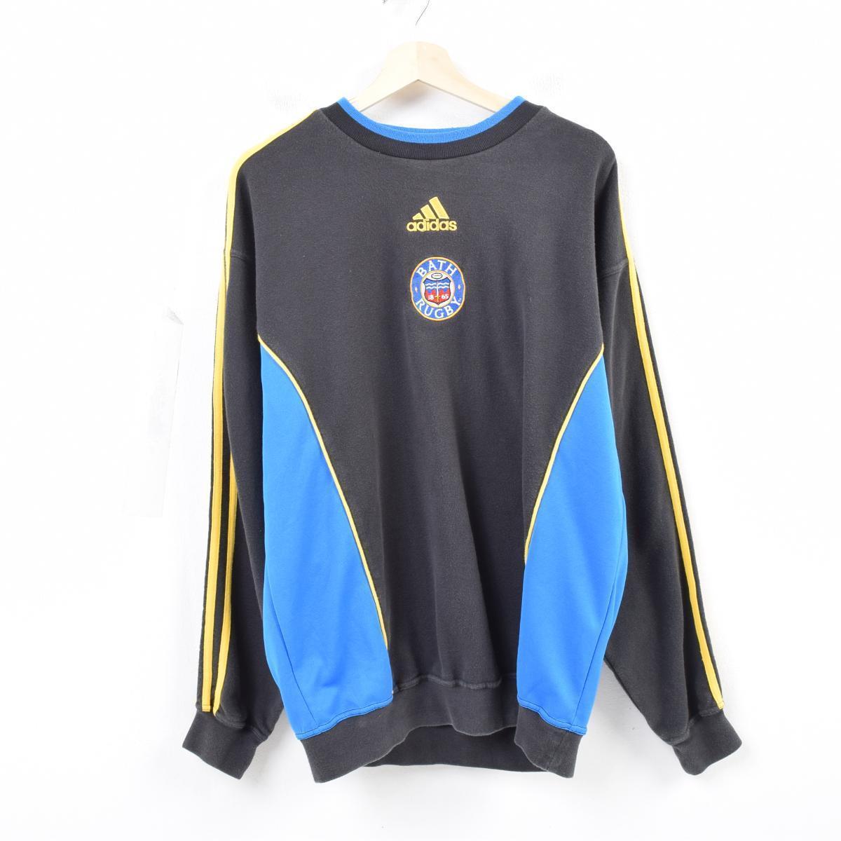 ef1bf9dbdf9 90s Adidas adidas BATH RUGBY Bath rugby logo sweat shirt trainer men XL  /wau0844 ...