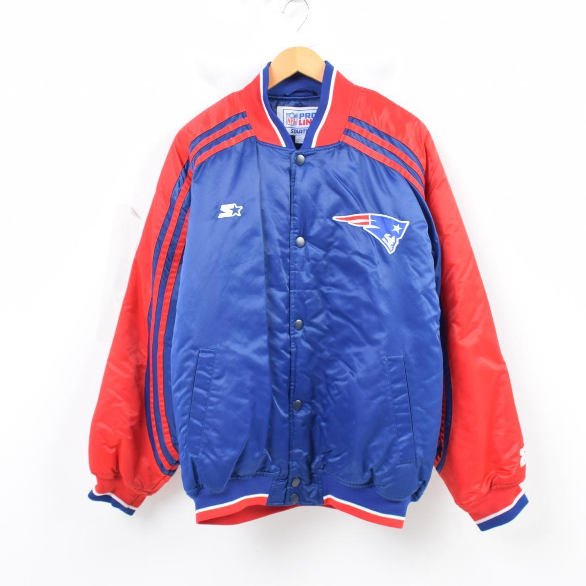 on sale abc94 fea67 Starter Starter NFL NEW ENGLAND PATRIOTS New England Patriots nylon award  jacket Award jacket men XL /wau0192