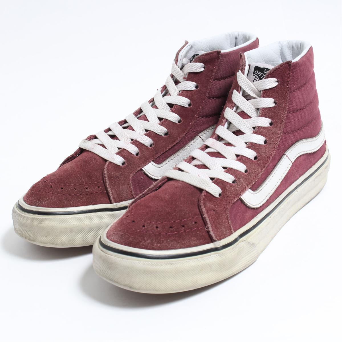 6eb7431de1 VINTAGE CLOTHING JAM  Vans VANS SK8-HI high-top sneakers US4.5 ...
