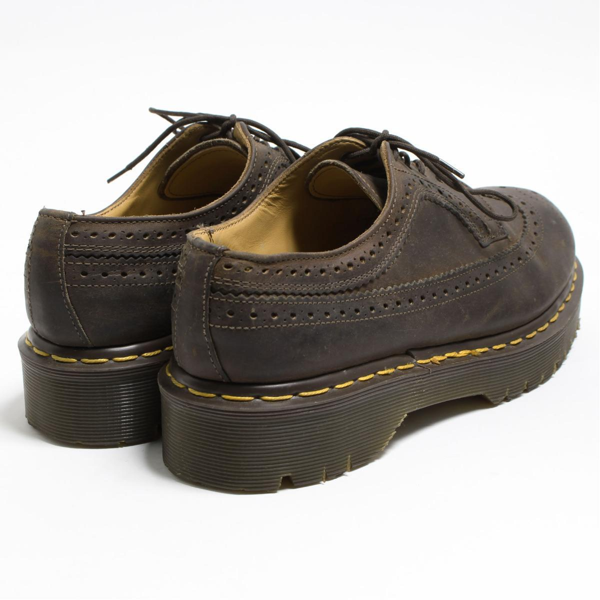 ... UK6 Lady's 24.5cm /bon8622 made in the doctor Martin Dr.Martens wing tip ...