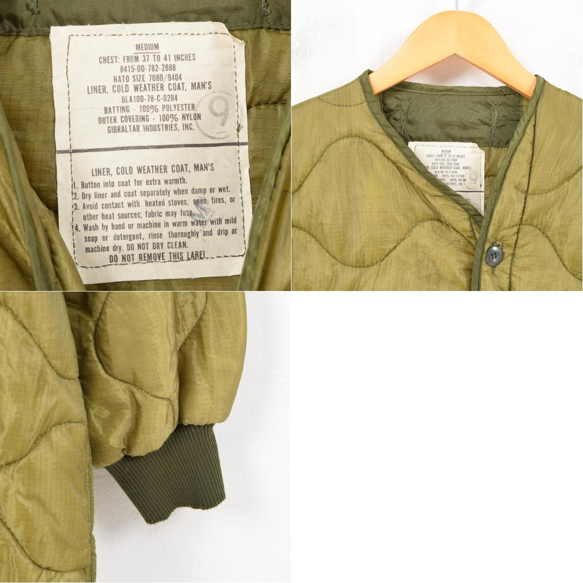 MEDIUM Lady's L vintage /wau2459 for JAM remake 78 years made in M-65  military liner jacket USA with the delivery of goods U S  forces true  article