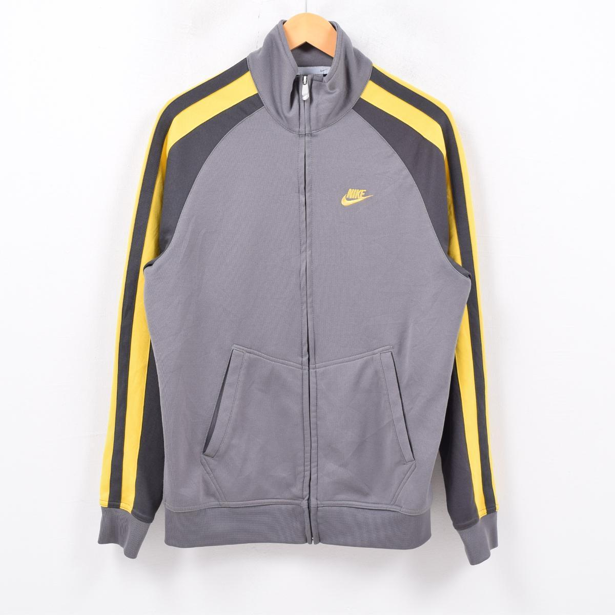 47acffdb53e3 VINTAGE CLOTHING JAM  Nike NIKE jersey truck jacket men M  wbc4721 ...