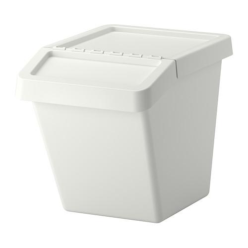 【★IKEA/イケア★】SORTERA 分別ゴミ箱 ふた付 60 l/102.559.01