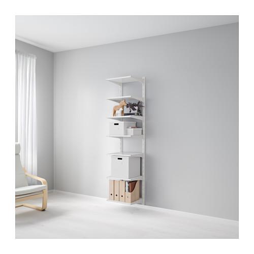 【★IKEA/イケア★】ALGOT 壁用支柱/棚板/590.942.14