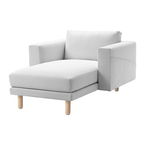 【★IKEA/イケア★】NORSBORG カバー 寝椅子用 フィーンスタ ホワイト/691.176.96