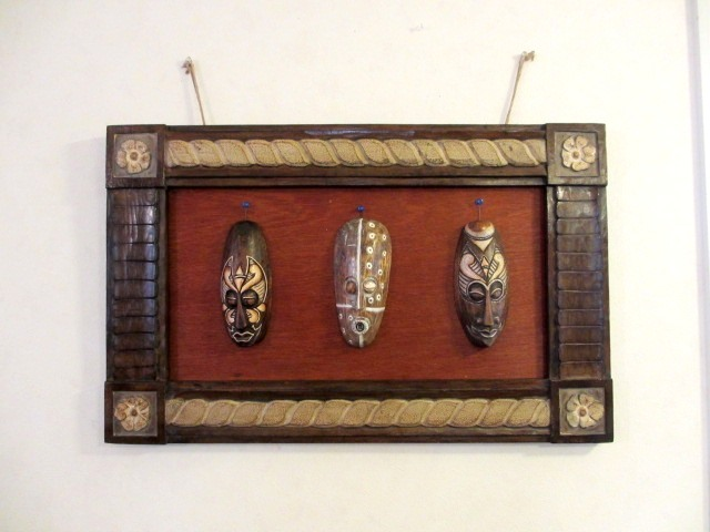 アフリカン アート な アジアン雑貨 インテリア*アフリカンリゾート・アート