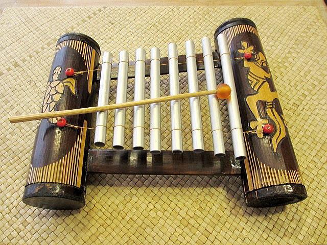 楽器 バリの音色 癒し バンブー アジアン雑貨 鉄琴 アジアン バリ 音色 音 楽器 インテリア バリの楽器 バンブー カメ トカゲ デザイン*バリの鉄琴 癒しの音色