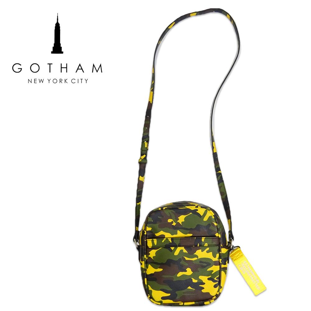 GOTHAM NYC(ゴッサムニューヨークシティ) ショルダーバッグ [ユニセックス] GN-116【CMO】ミニショルダー カモフラ 迷彩 イエロー【あす楽】【店頭受取対応商品】