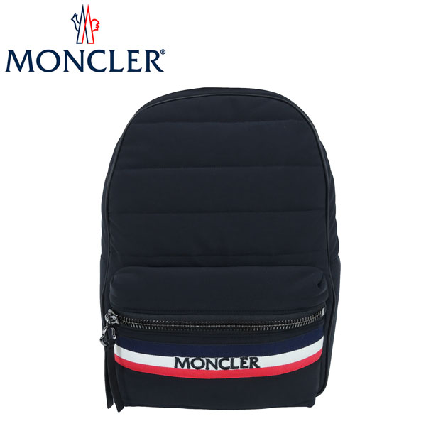 MONCLER(モンクレール) バックパック NEWGEORGE【BLK/F】リュックサック バッグ ストレッチナイロン【あす楽】【店頭受取対応商品】