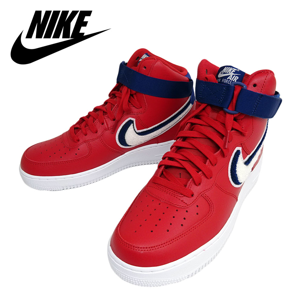 pick up d47f0 484fa NIKE Nike AIR FORCE1 HIGH 07 LV8 men 806,403-603 red air force 1 high  higher frequency elimination overseas model parallel import goods