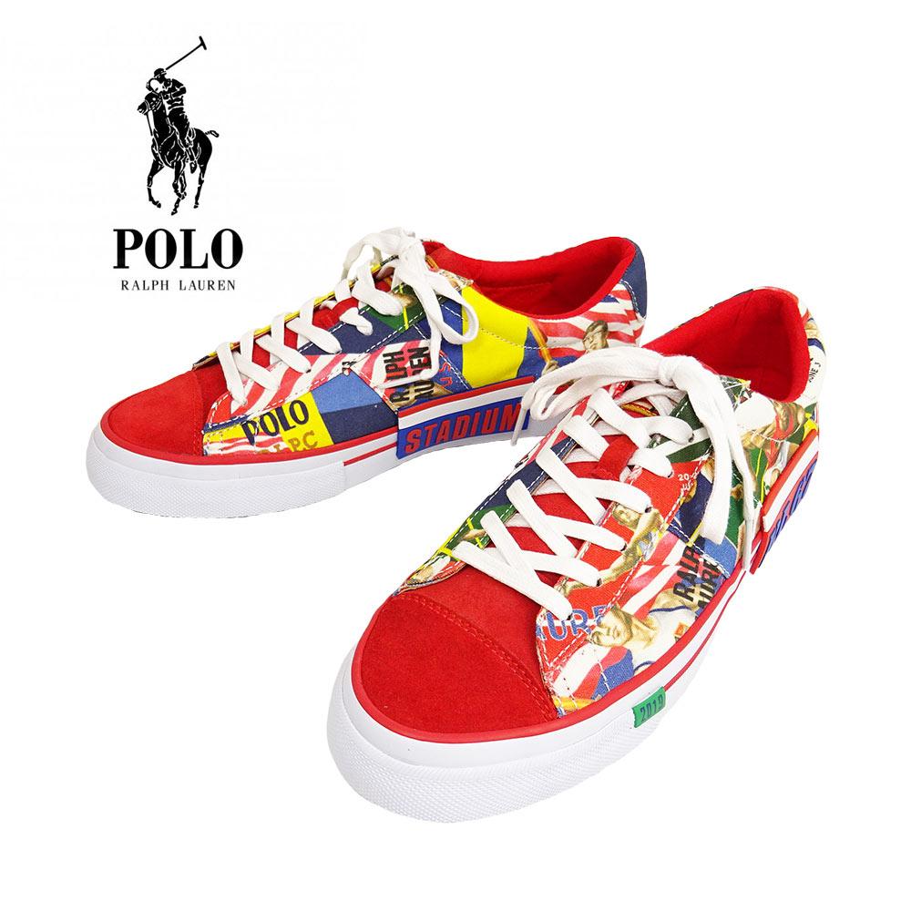 POLO RALPH LAUREN(ポロ ラルフローレン) Chariots Of Fire Sayer Sneakers [メンズ] 816765995001【MLT/26cm(US8)-28cm(US10)】 SAYER セイヤ― スニーカー バンズ【あす楽】【店頭受取対応商品】