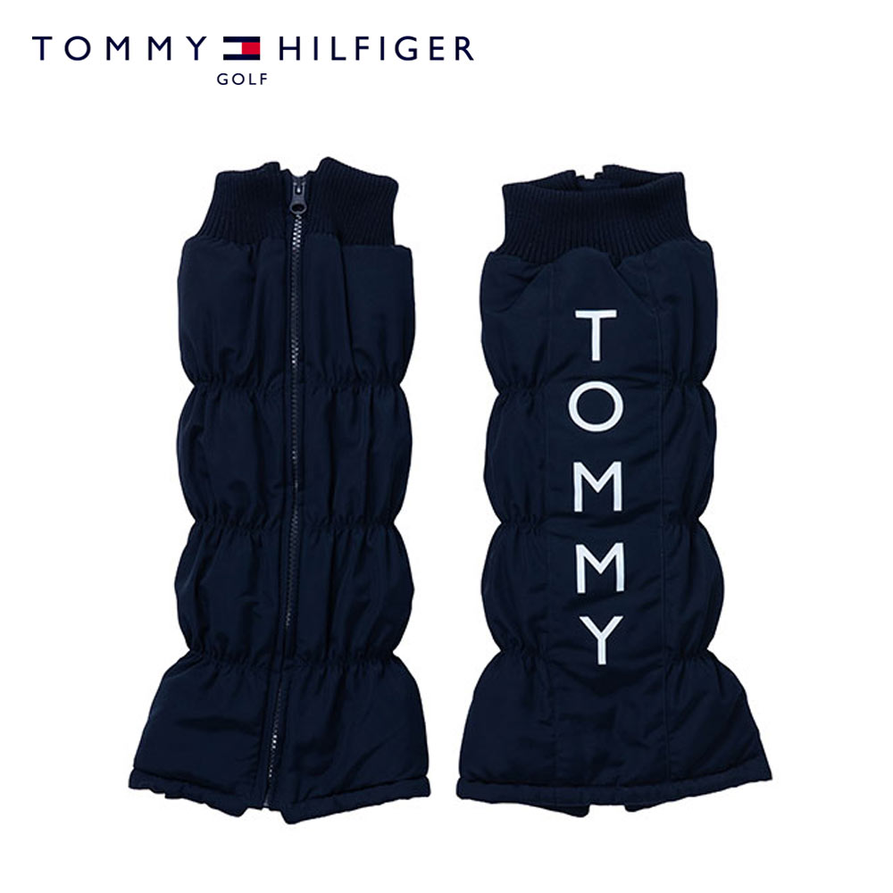 TOMMY HILFIGER GOLF(トミーヒルフィガー ゴルフ) レッグウォーマー [レディース] THMB9F8F QUILT LEG WARMER【NVY(30) /Fサイズ】キルト ゴルフウェア【店頭受取対応商品】【あす楽】