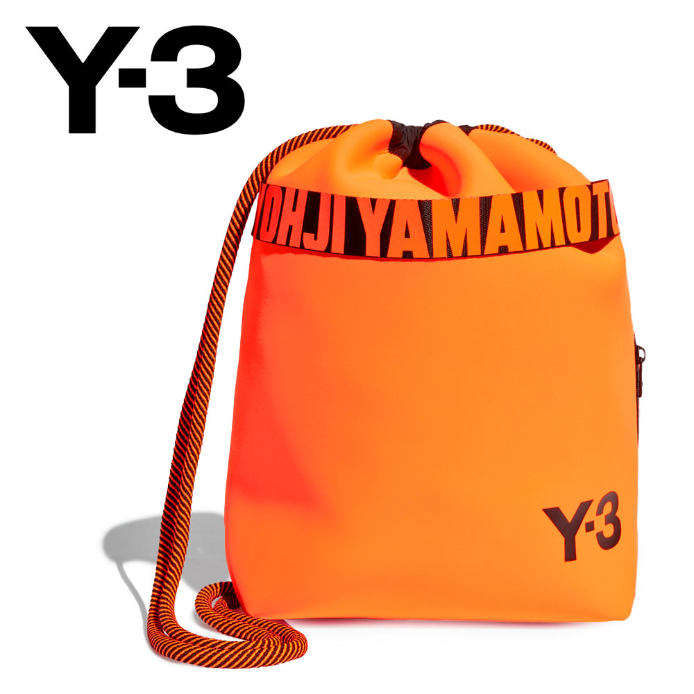 【20%OFF】Y-3 (ワイスリー) バックパック [メンズ] FS2368 Y-3 DRAWSTRING BACKPACK【ORG/F】 ロゴ オレンジ ヨウジ ヤマモト アディダス ギフト プレゼント【あす楽】:JAM Collection