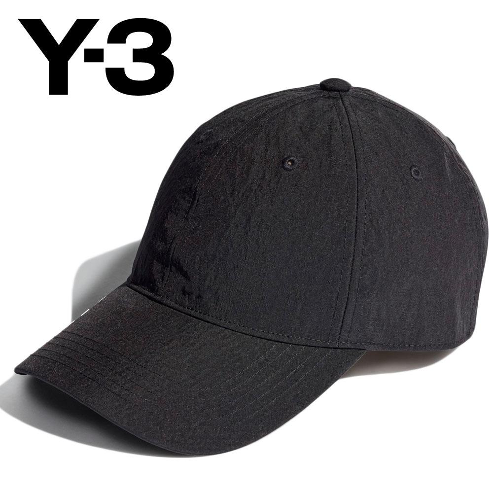 2021AW 20%OFF Y-3 ワイスリー CORDURA CAP ユニセックス H54044 BLACK コーデュラ キャップ あす楽 ロゴ 安心の定価販売 公式ショップ プレゼント 帽子 ギフト ベースボール Mフリー
