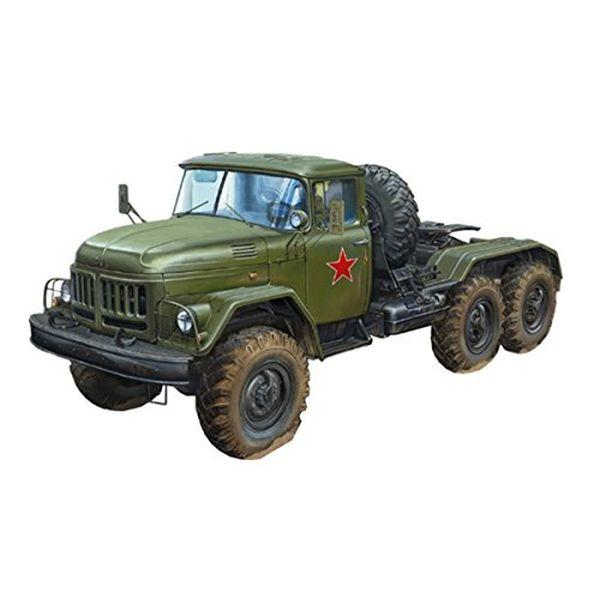 ブロンコモデル 1/35 ロシア軍 ジルZil-131V トラクタートラック プラモデル CB35194