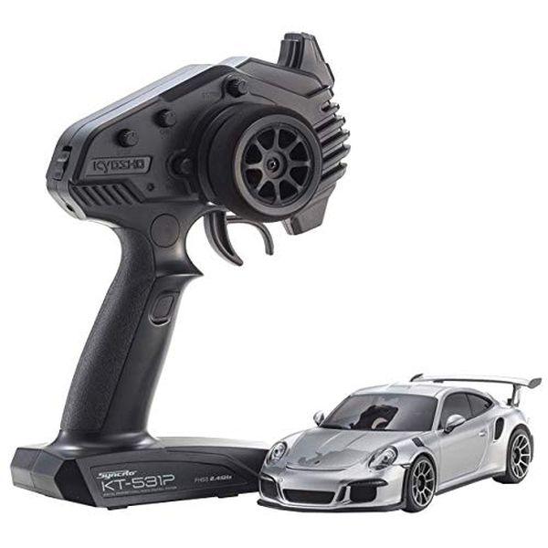 京商 ラジオコントロール 電動ツーリングカー ミニッツRWDシリーズ レディセット ポルシェ 911 GT3 RS GTシルバーメタリック 32321S